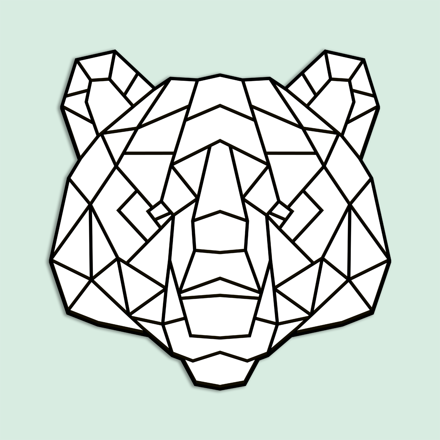 GeoZoo Bear Pieces